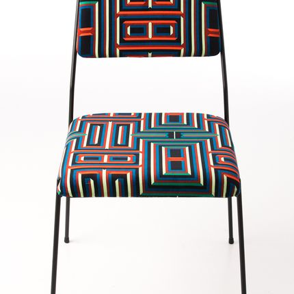 Chairs - Impala Chair & Coralie Prévert Fabric - AIRBORNE