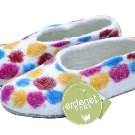 Shoes - Felt slippers - ERDENET CASHMERE LLC