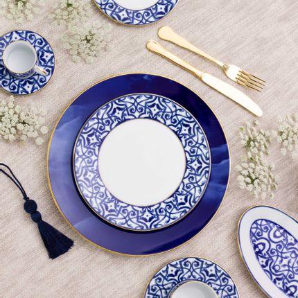 Assiettes de reception - Blue Legacy & Adamastor - PORCEL