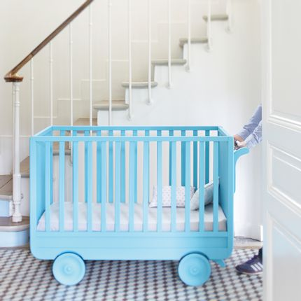 Mobilier bébé - Lit Roulotte - LAURETTE
