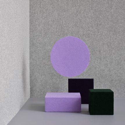 Fabrics - Wool felt - Fresco grey 001 - FÉLINE