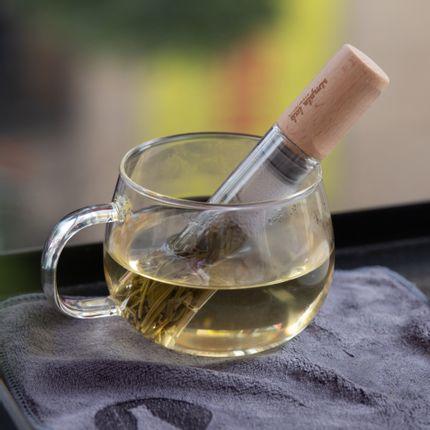 Accessoires thé / café -  ELIXIR (+). baguette de thé en verre / infuseur - SIMPLE LAB EXPERIENCE BY JEEP INNOVATION LTD.