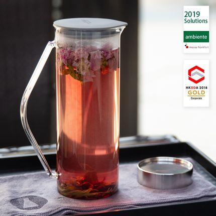"""Accessoires thé / café -  Kit d'infusion et de filtration du thé T-RING (""""Presse française"""" pour le thé) - SIMPLE LAB EXPERIENCE BY JEEP INNOVATION LTD."""