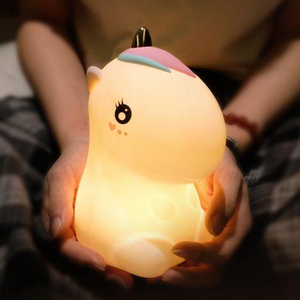Gift - SILICONE UNICORN LAMP - KELYS- LUXYS