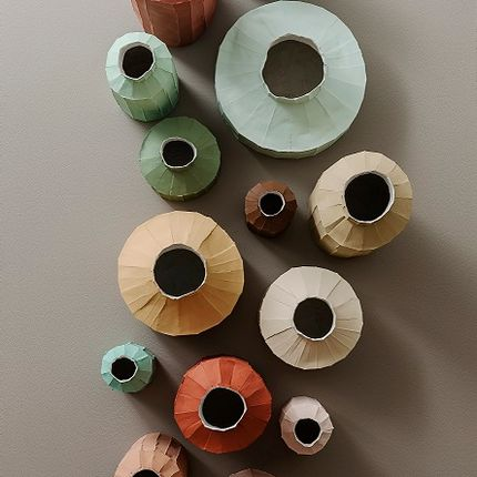Design objects - Cartocci collection - Ninfee Colour and more - PAOLA PARONETTO