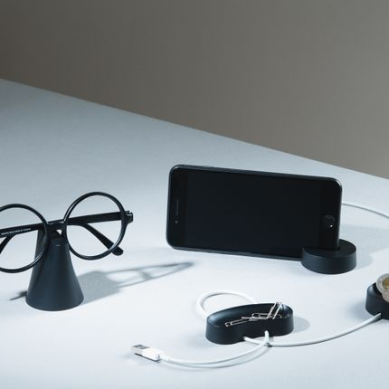Gift - Elements_Cable Organizer 1&2, Tablet Rack, Glasses Holder - NO.30