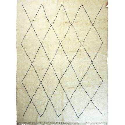 Rugs - TAA1345BE Berber Rug Beni Ourain - 385x320 cm - 151.5745X125.984 in - AFOLKI BERBER RUGS