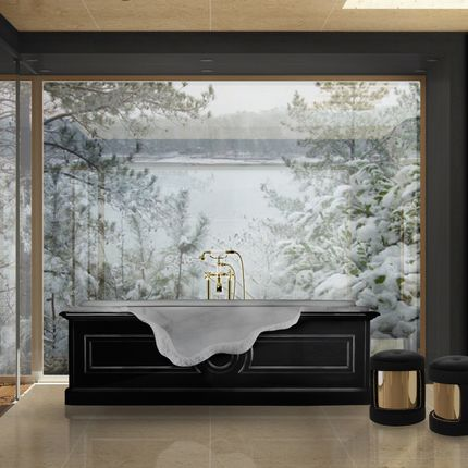 Bathtubs - Petra Bathtub - MAISON VALENTINA