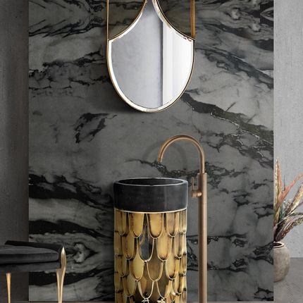 Bathroom furniture - Koi mirror - MAISON VALENTINA