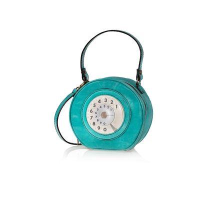 Bags / totes - MINI CIRCLE PHONE BAG - LA TILDE