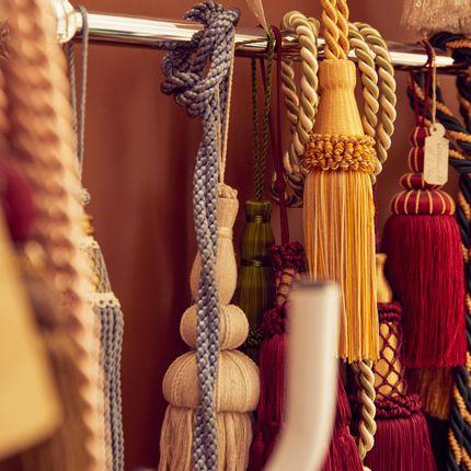 Passementerie - ribbons, braids, tassels, tiebacks  - M. MAURER