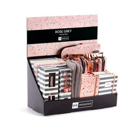 Gift - DISPLAY BOX COLLECTION ROSE GREY MIQUELRIUS - MIQUELRIUS 1839, S.A.U.