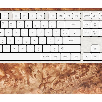 Office set - SG2 keyboard - Walnut burl - GEBR. HENTSCHEL GBR