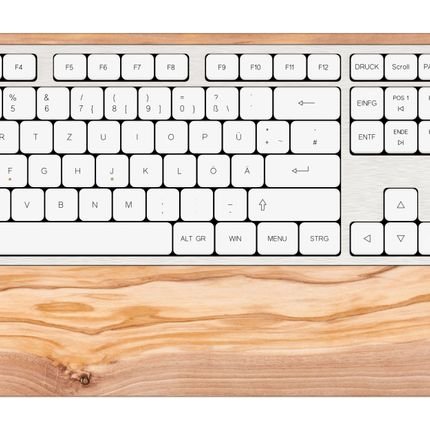 Office set - SG2 keyboard - Olive wood - GEBR. HENTSCHEL GBR