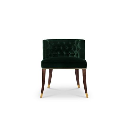 Chairs - Bourbon Dining Chair  - COVET HOUSE