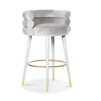 Chaises - MARSHMALLOW Bar Stool - ROYAL STRANGER