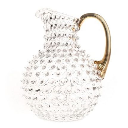 Carafes - JUG ANANAS CLEAR ANSE GOLD - MARKHBEIN