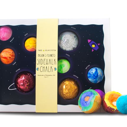 Creative Hobbies - TWEE Mason's Planets Sidewalk Chalk - TWEE