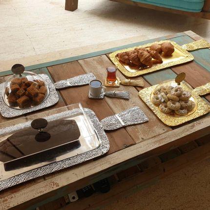 Formal plates - Cake platter - DALYA ASMAR