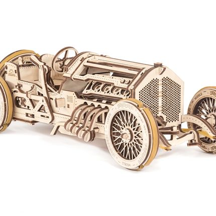 Creative Hobbies - Ugears - U-9 Grand Prix Car - DAM