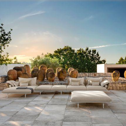 Lawn sofas   - Cruise Collection // Alu - TALENTI SRL