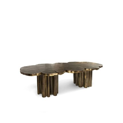Tables - Fortuna Patina Dining Table  - COVET HOUSE