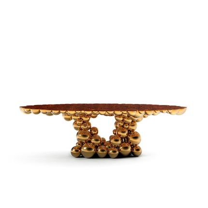 Tables - Newton Gold Myrtle - COVET HOUSE