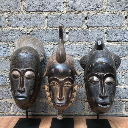 Objets de décoration - Masque Baoulé  - AFRICAN GALLERY