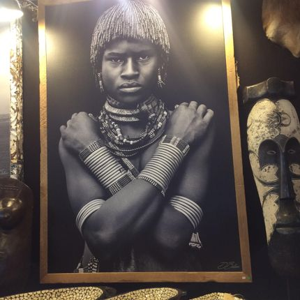 Art photos - Tribal portrait  - AFRICAN GALLERY