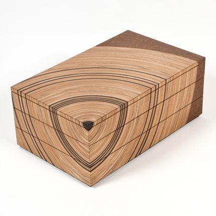 Boite de rangement - Boîte souvenir arbre généalogique - EDWARD JOHNSON FURNITURE