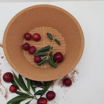 Bowls - Losango Collection- the choice of François Delclaux for What's New? Living - 3D CORK