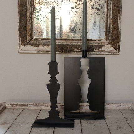 Table lamps - Set of two openwork candleholders - Medium - MERCI LOUIS
