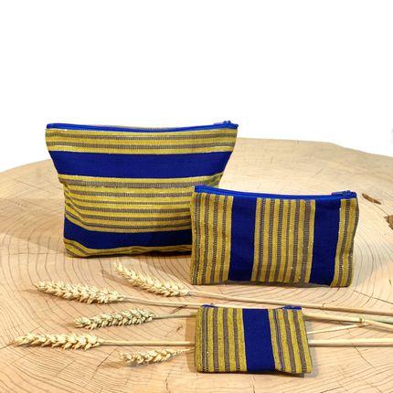 Pochettes - Pochette en tissu - COUSSIN D'AFRIQUE