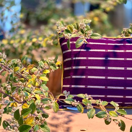 Cushions - Woven cushions in Benin - COUSSIN D'AFRIQUE