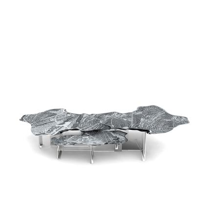 Tables - Monet Silver Center Table  - COVET HOUSE