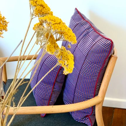 Cushions - Ayame cushions woven in Togo - COUSSIN D'AFRIQUE