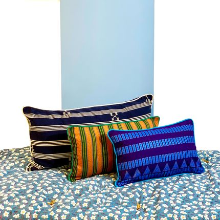 Cushions - Illama cushions woven in Togo - COUSSIN D'AFRIQUE