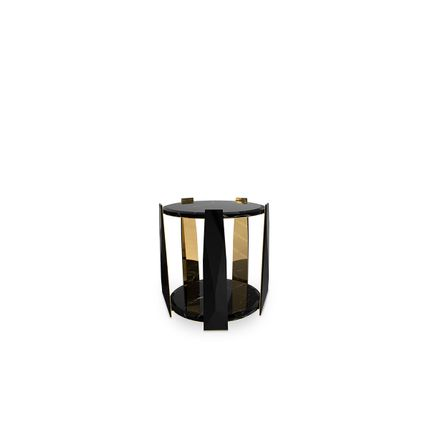 Tables - Imperium Side Table  - COVET HOUSE