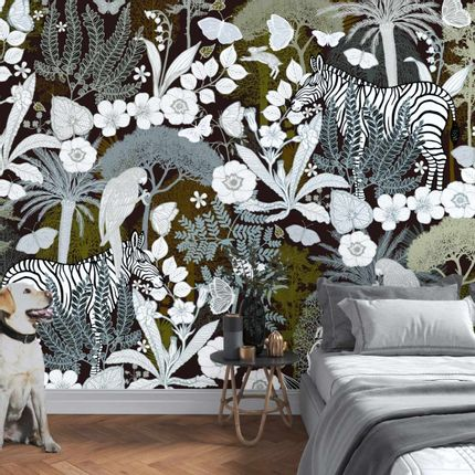 Wall coverings - L'Eté Indien Panel  - ETOFFE.COM