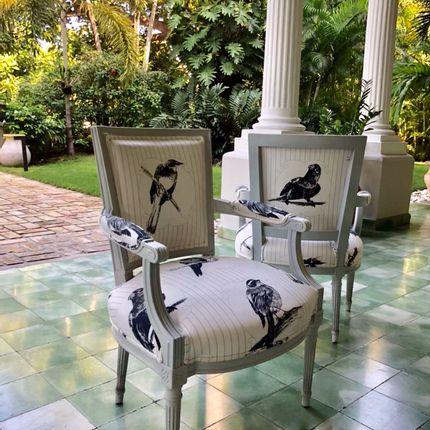 Upholstery fabrics - Upholstery fabric YV-OL - YAËL & VALÉRIE
