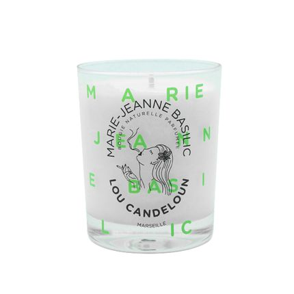 "Candles - Scented candle ""Marie-Jeanne basil"" 150g - LOU CANDELOUN"