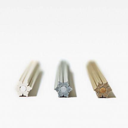Stationery store - Snow Pencils YUKI (set of 3 + A sharpner ) - TRINUS