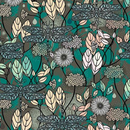 Wall coverings - Floraison Panel - ETOFFE.COM