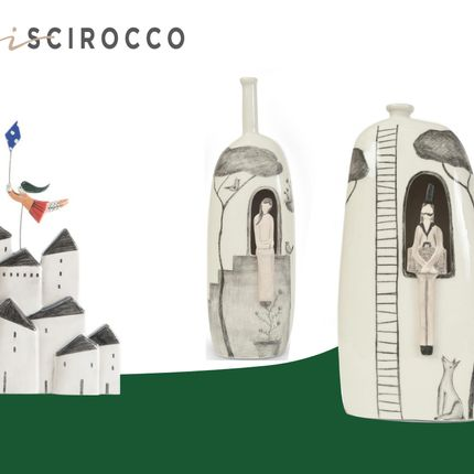 Ceramic - GRAFTED LINE: THE SOUL'S EXPRESSION - TERRE DI SCIROCCO