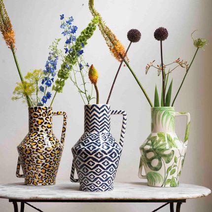 Vases - Plaid turn around pink - RETURN TO SENDER