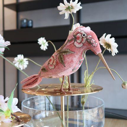 Decorative objects - NEW ROSE Sorbet Pink Kingfisher - ANKE DRECHSEL