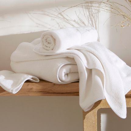 Bath linens - Washed cotton toilet - DORAN SOU