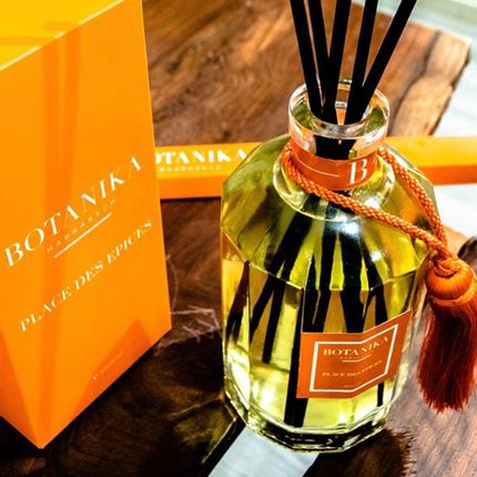 Scent diffusers - Ambiance diffuser perfume with fiber sticks - BOTANIKA MARRAKECH (IRCOS)