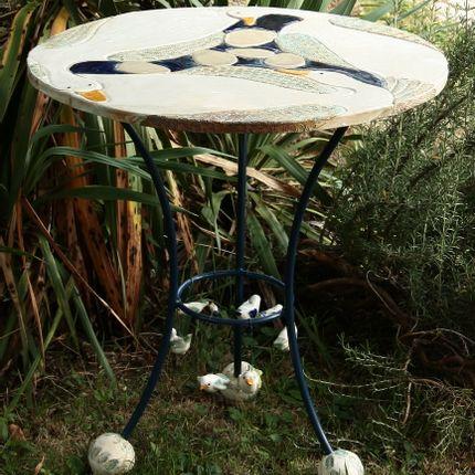 """Tables - Table en céramique """"Becs et Plumes"""" - COUPEY AGNÈS"""