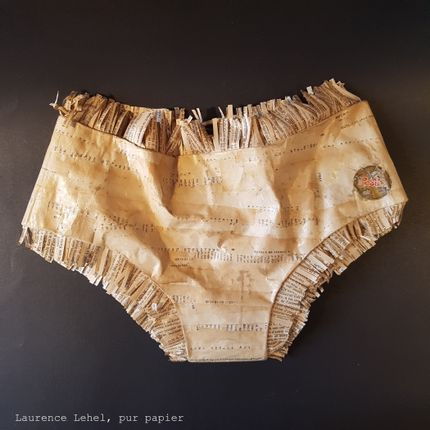 "Unique pieces - Panties ""Rosita"" - LAURENCE LEHEL"
